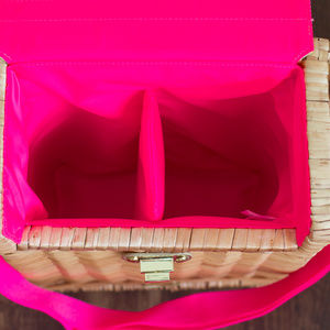 Lilly Pulitzer Bags - Lilly Pulitzer Wine Picnic Basket WINE NOT INCLUDE
